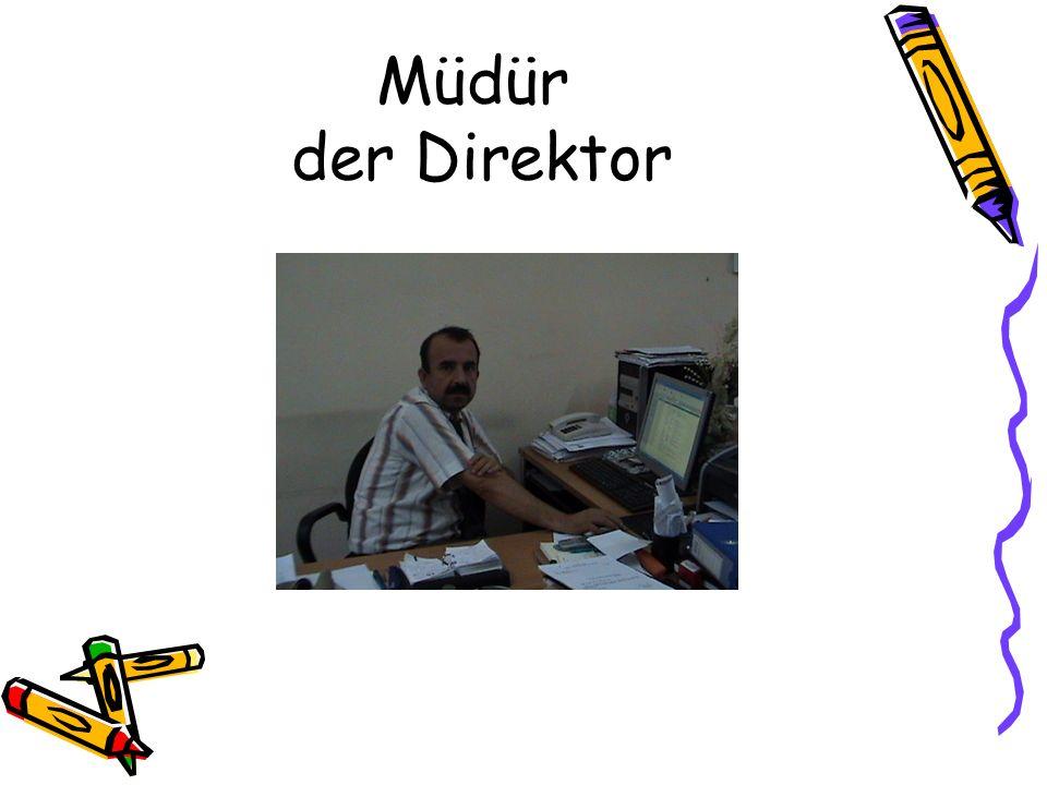 Müdür der Direktor