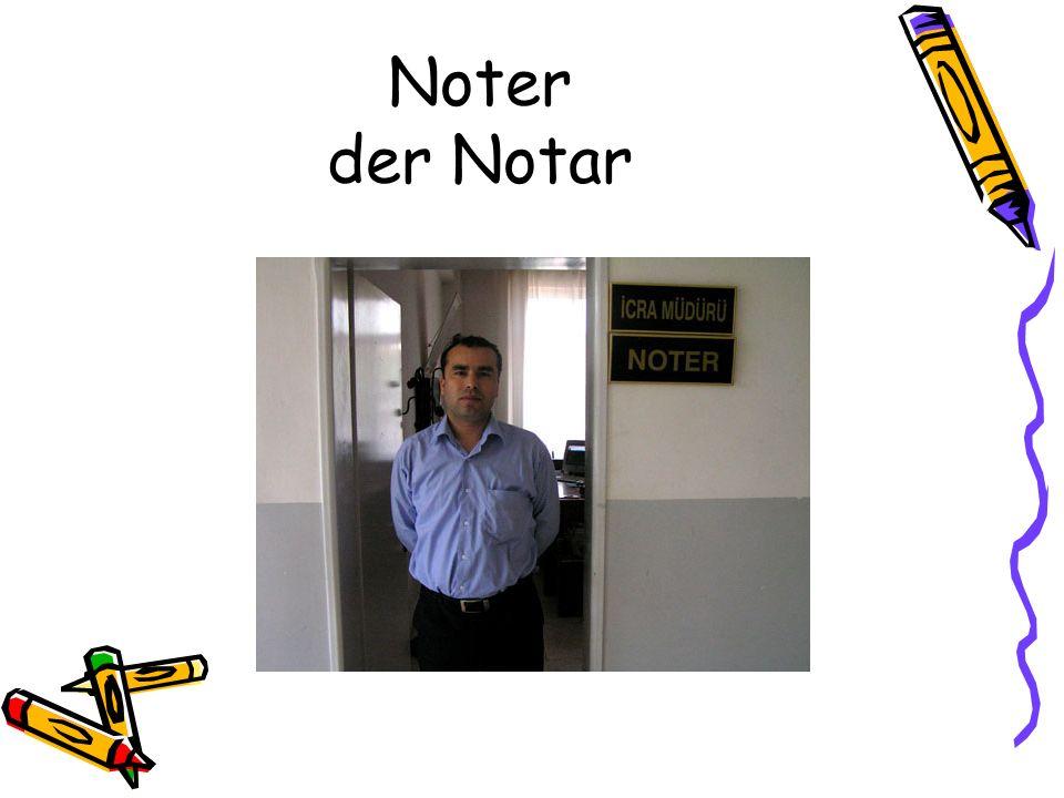 Noter der Notar
