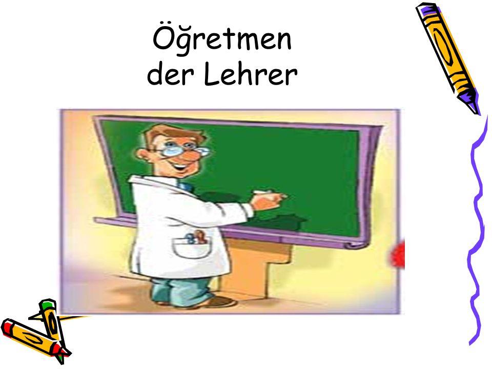 Öğretmen der Lehrer