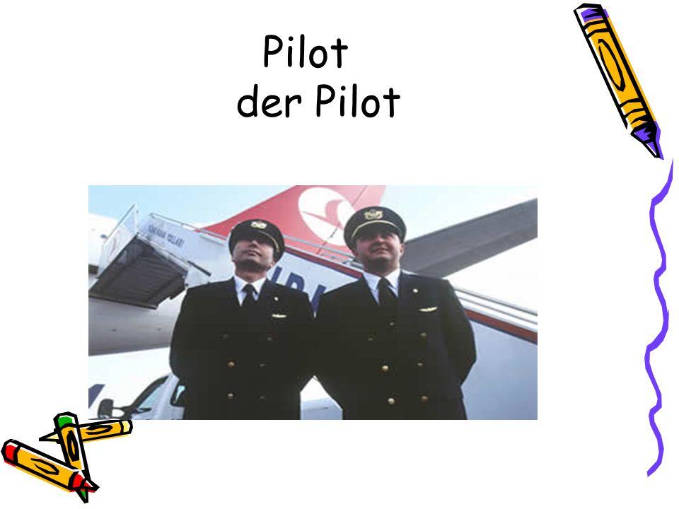Pilot der Pilot