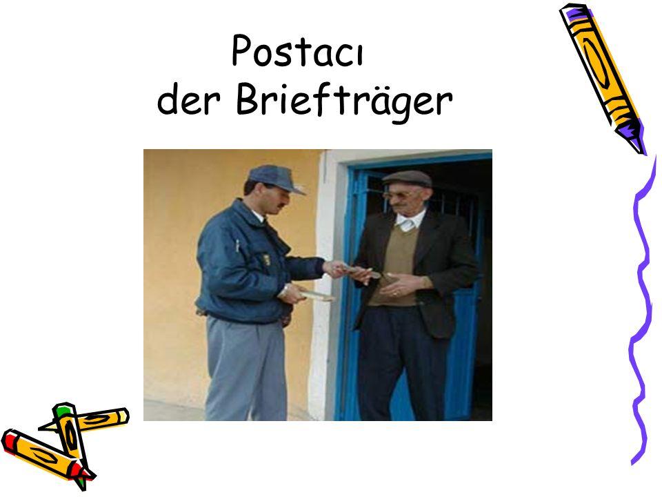 Postacı der Briefträger