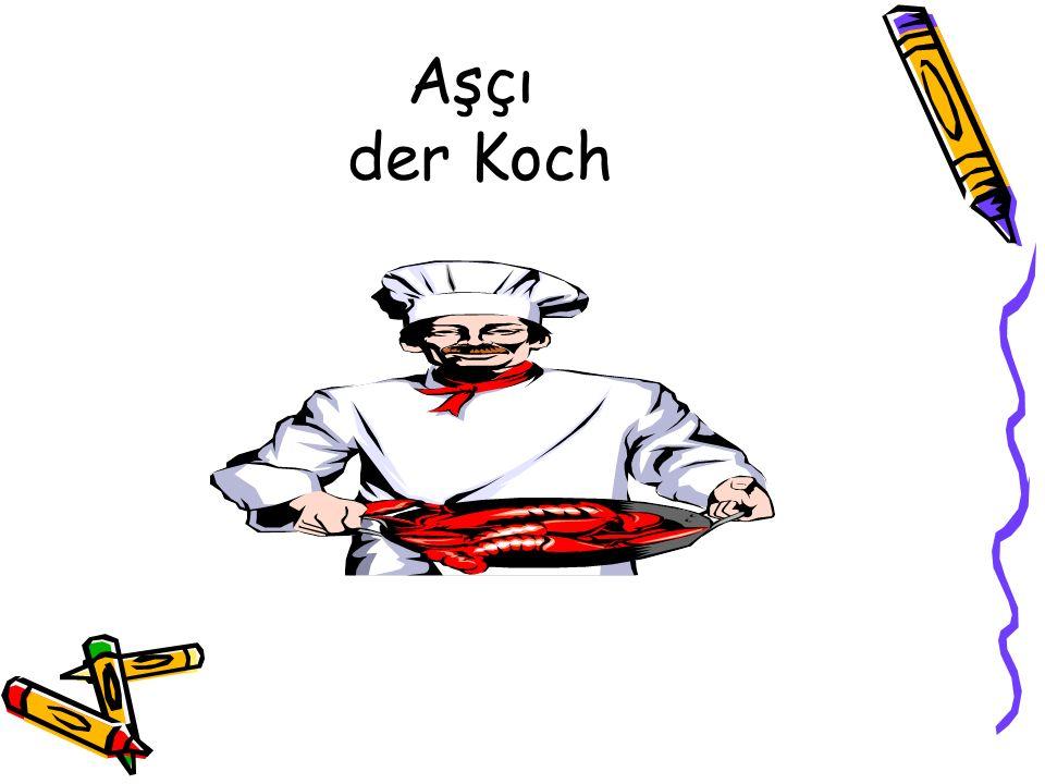 Aşçı der Koch