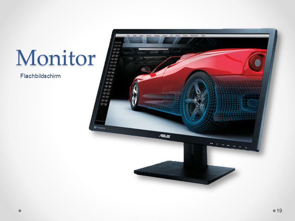 Monitor Flachbildschirm