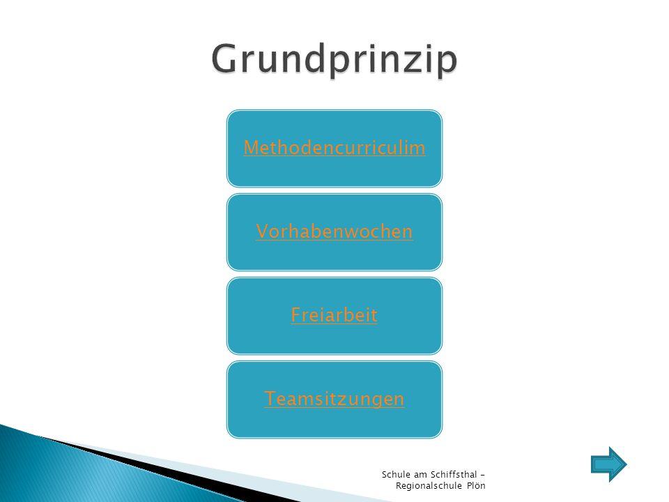 Grundprinzip Schule am Schiffsthal - Regionalschule Plön