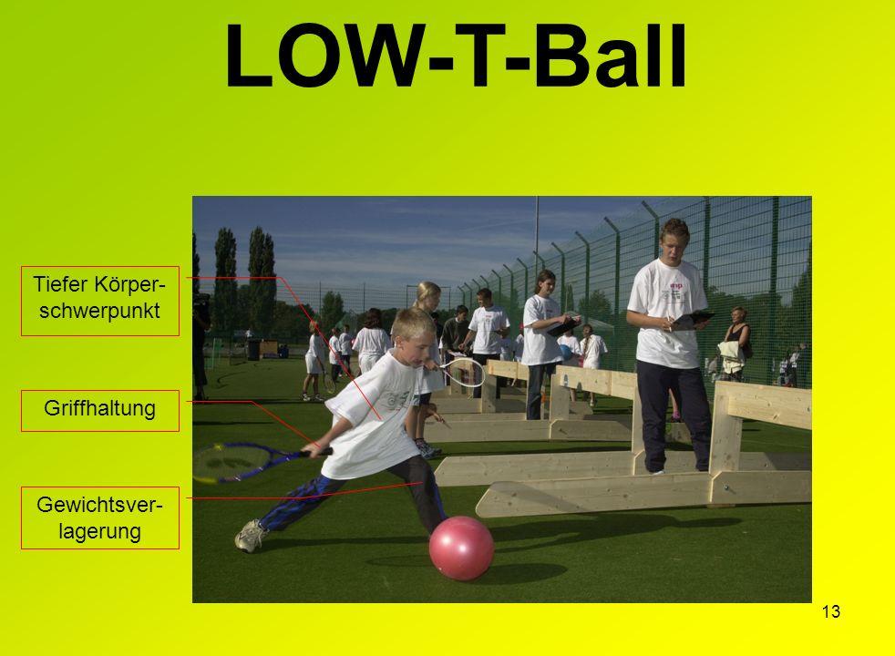 LOW-T-Ball Tiefer Körper-schwerpunkt Griffhaltung Gewichtsver-lagerung