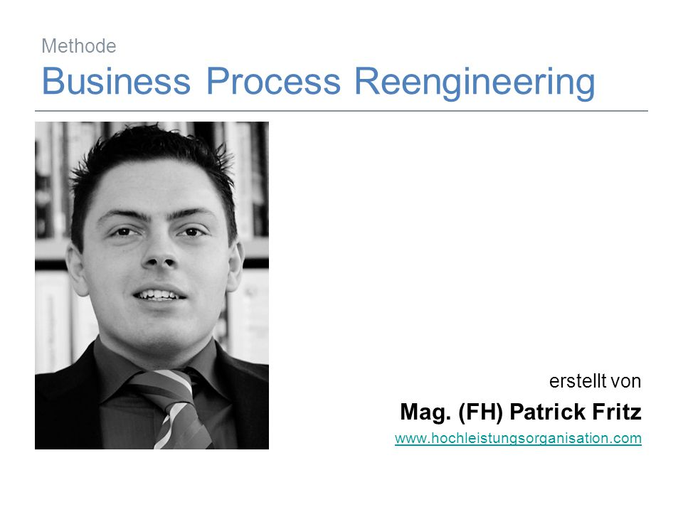 Methode Business Process Reengineering