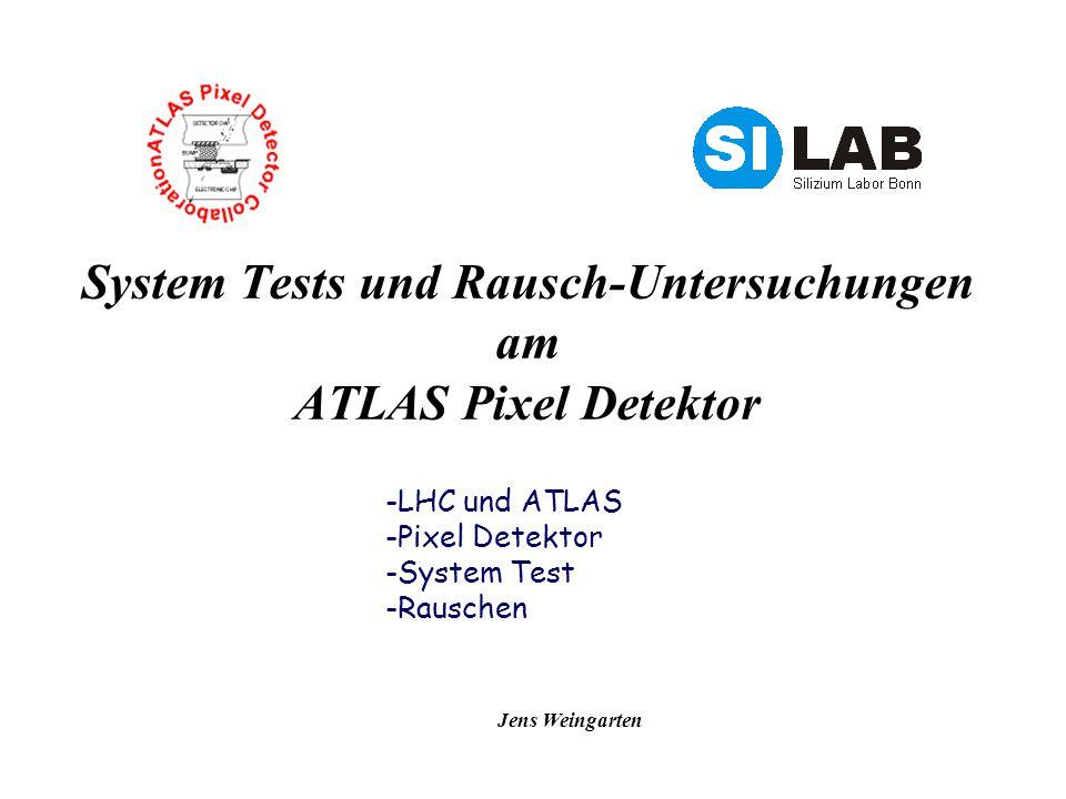 System Tests und Rausch-Untersuchungen am ATLAS Pixel Detektor