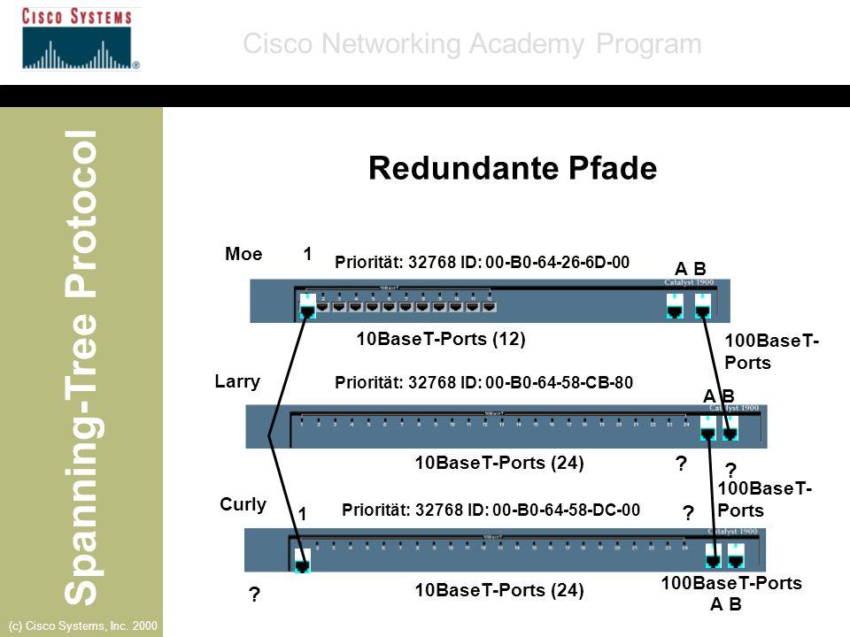 Redundante Pfade Moe 1 A B 10BaseT-Ports (12) 100BaseT-Ports