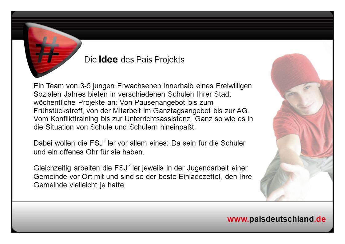 Die Idee des Pais Projekts