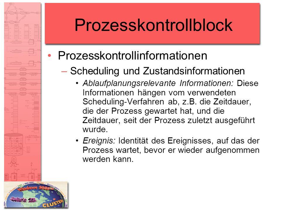 Prozesskontrollblock