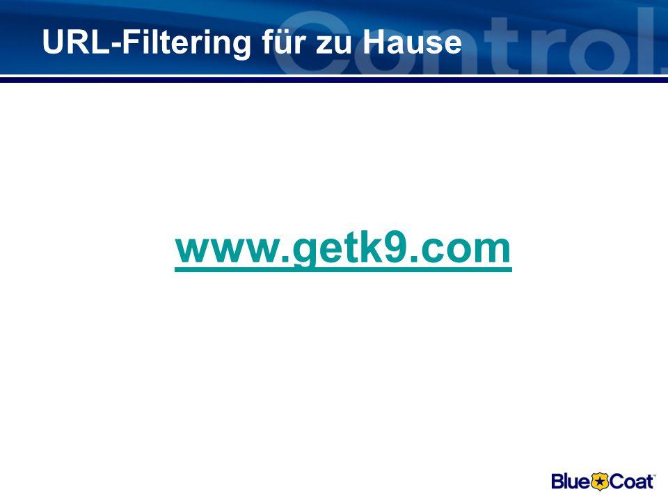 URL-Filtering für zu Hause