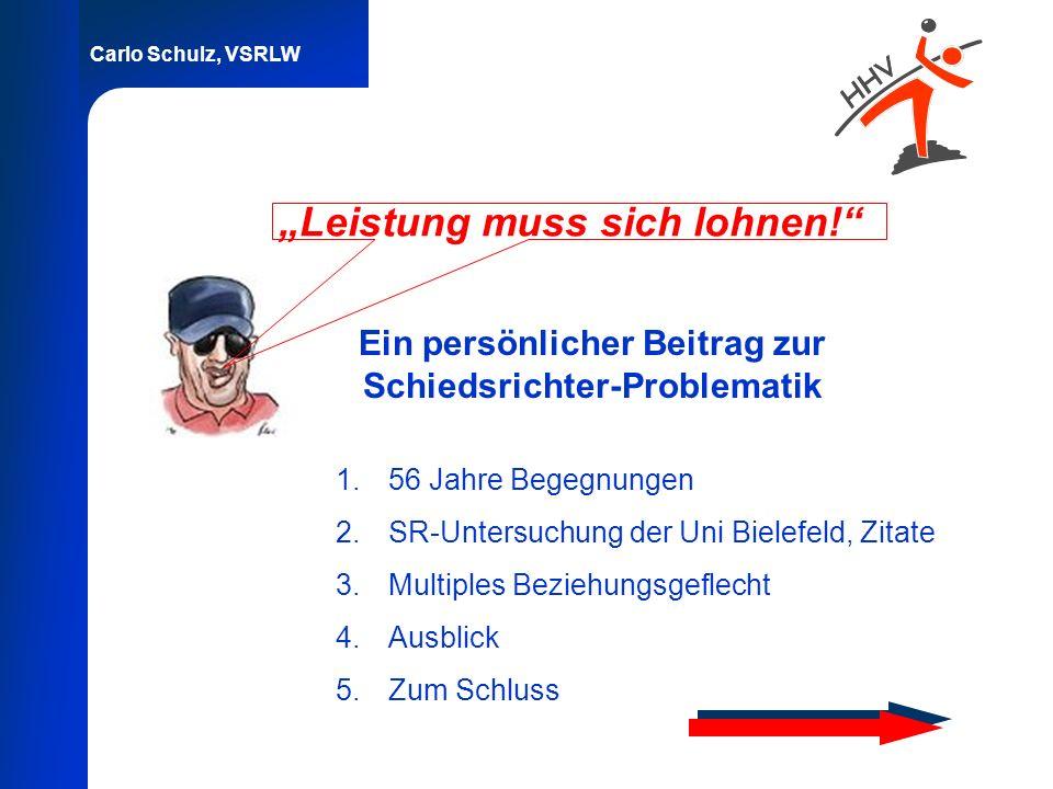 """""""Leistung muss sich lohnen!"""