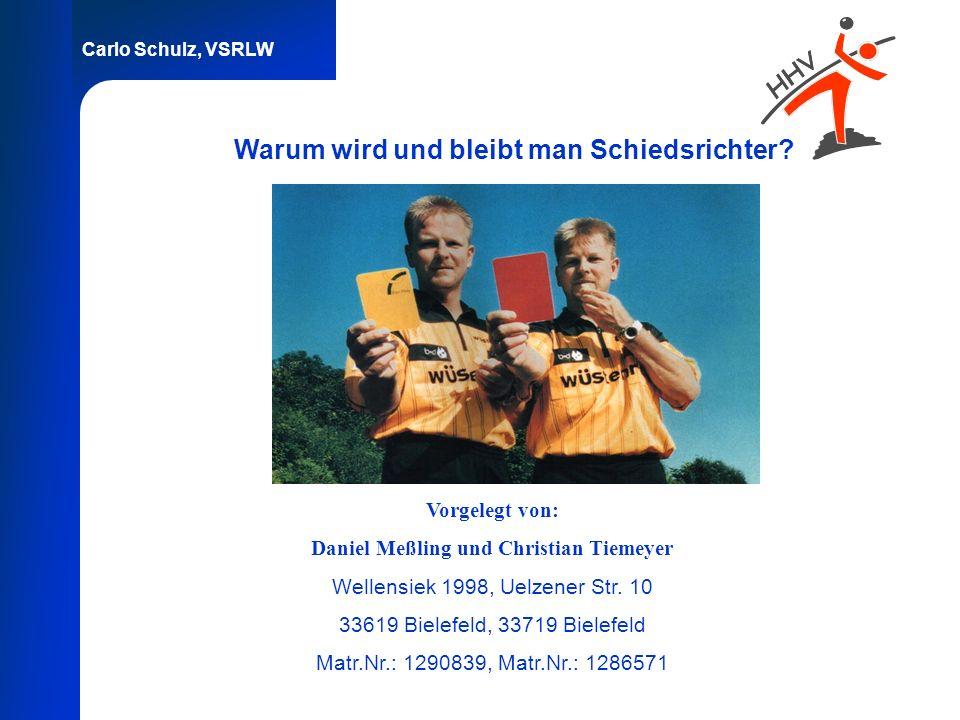 Daniel Meßling und Christian Tiemeyer