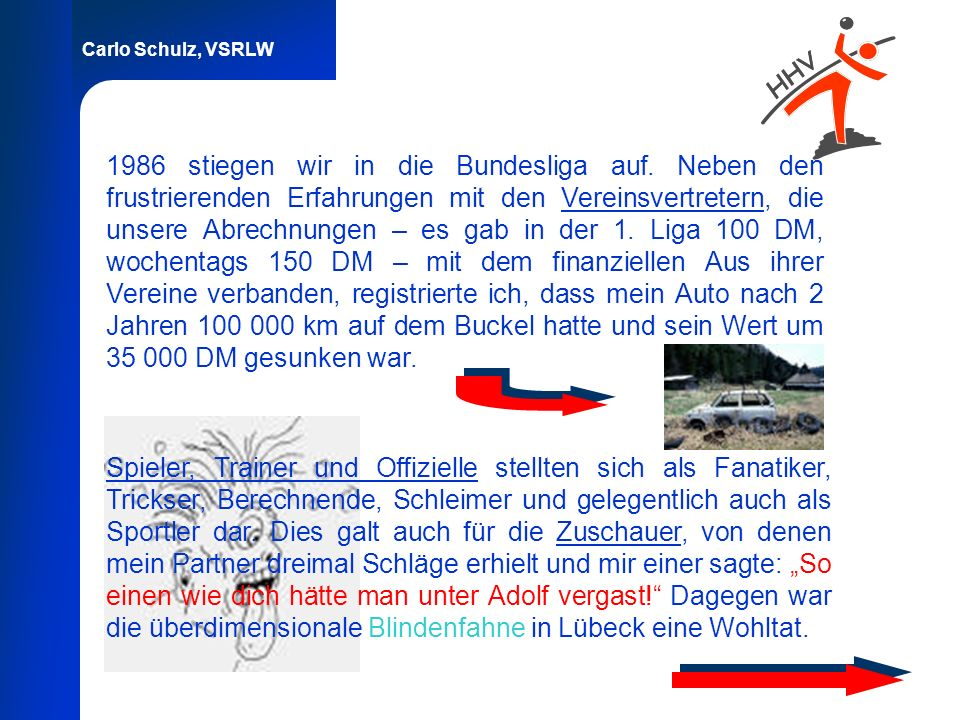 1986 stiegen wir in die Bundesliga auf