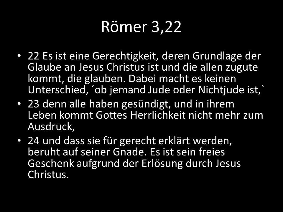 Römer 3,22