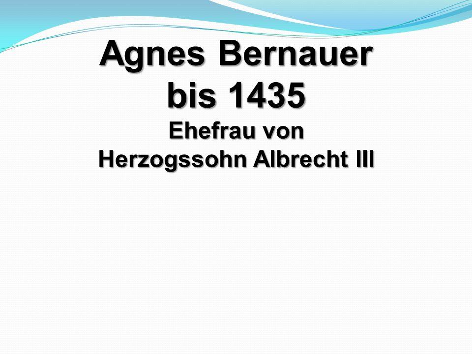 Herzogssohn Albrecht III
