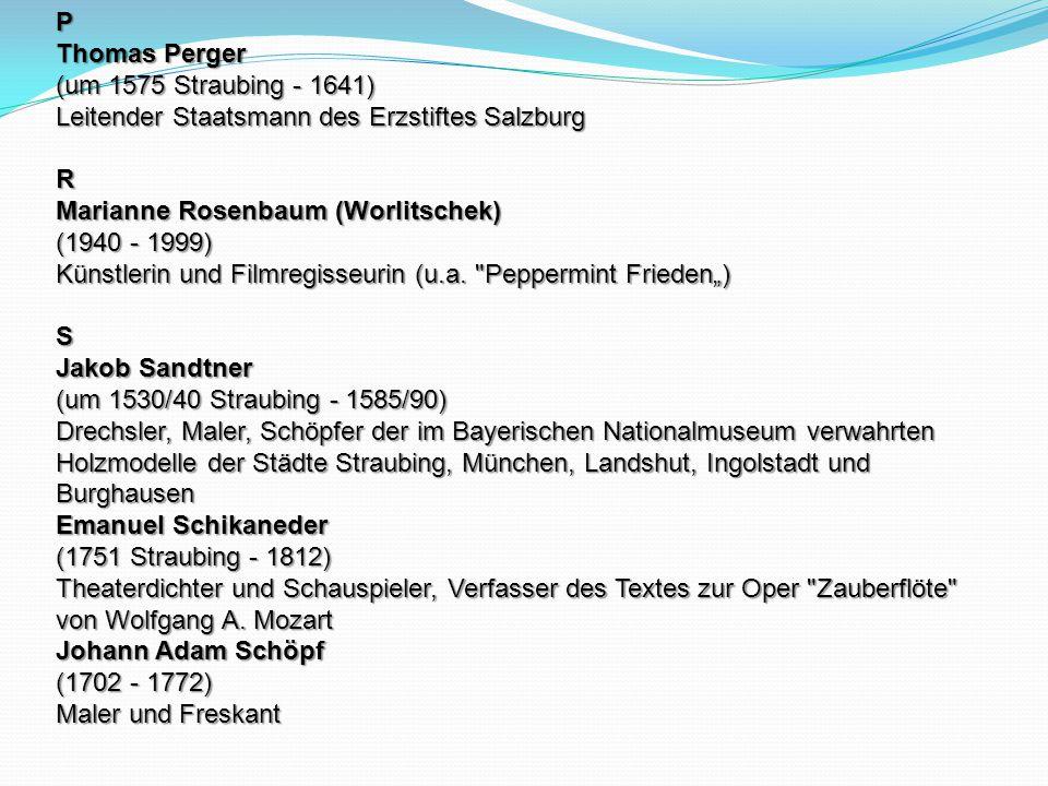 P Thomas Perger (um 1575 Straubing - 1641) Leitender Staatsmann des Erzstiftes Salzburg. R.