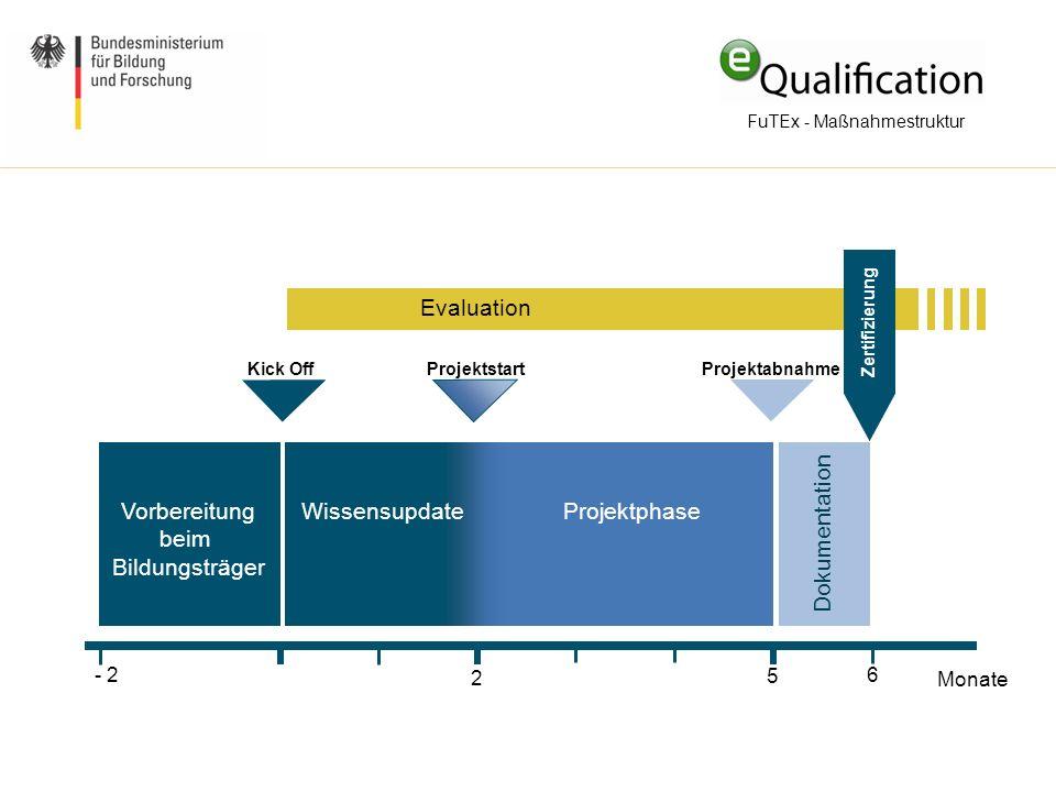 FuTEx - Maßnahmestruktur