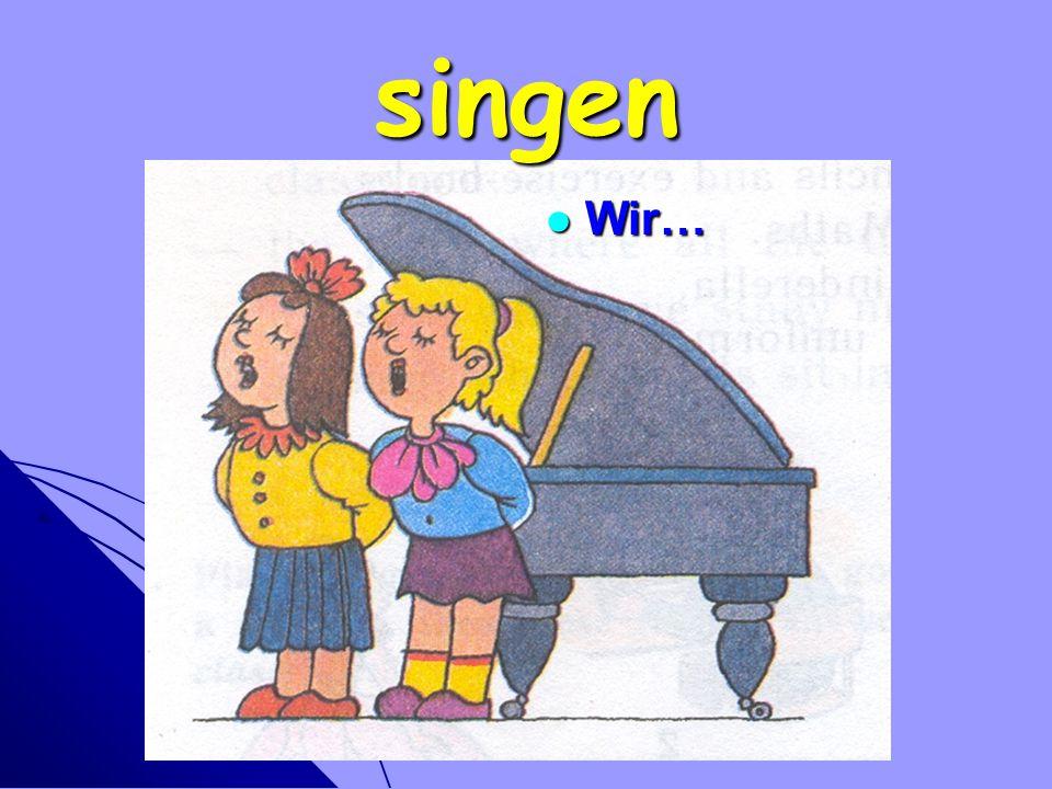 singen Wir…