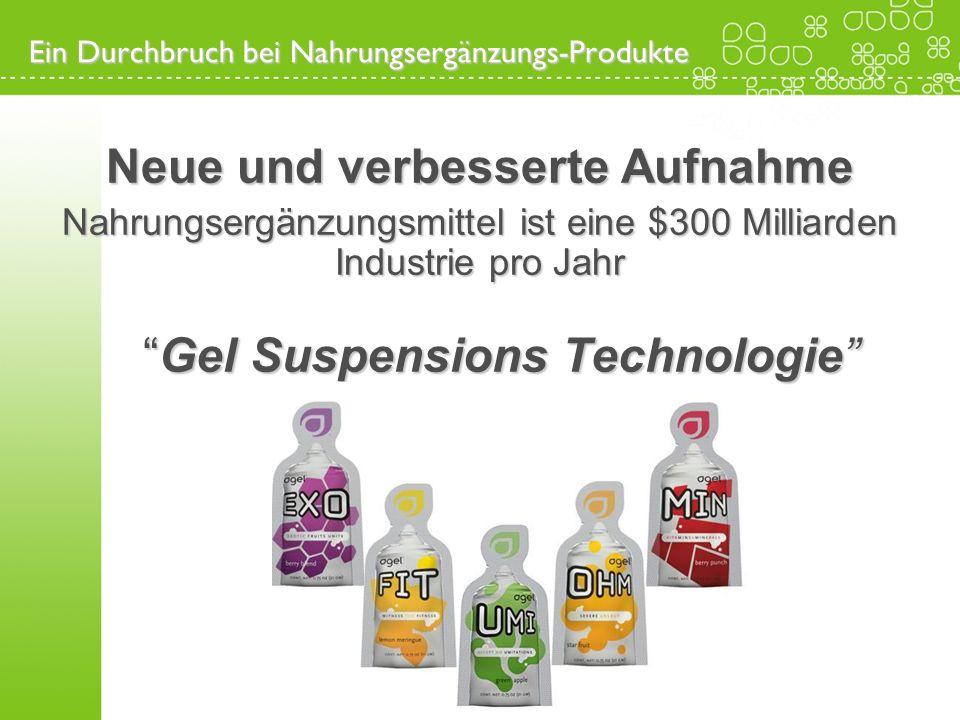 Ein Durchbruch bei Nahrungsergänzungs-Produkte