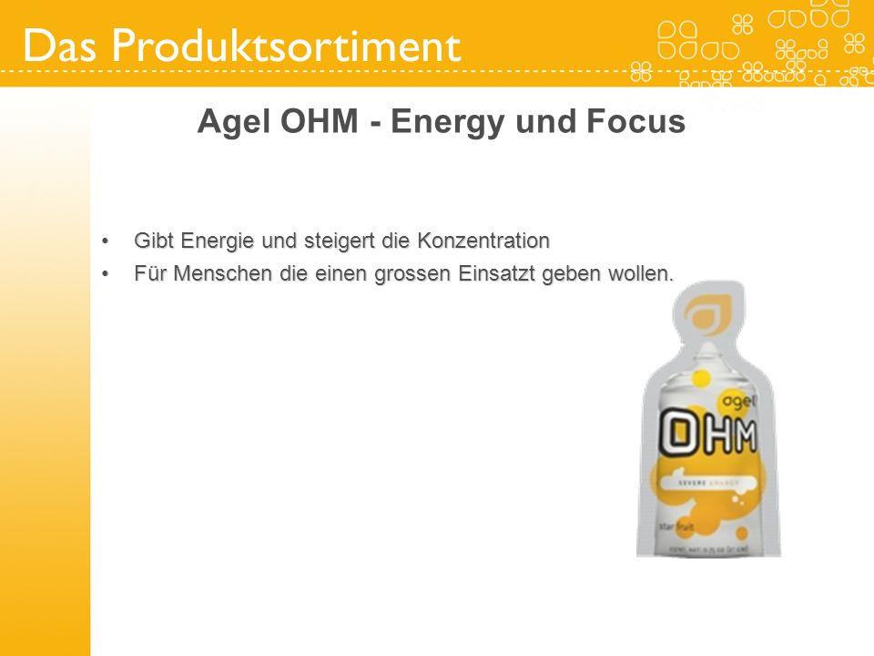 Agel OHM - Energy und Focus