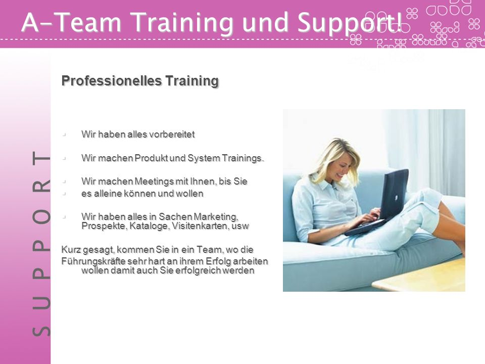 A-Team Training und Support!
