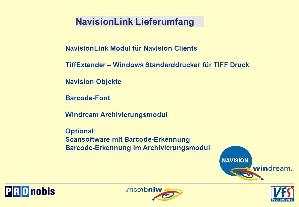 NavisionLink Lieferumfang
