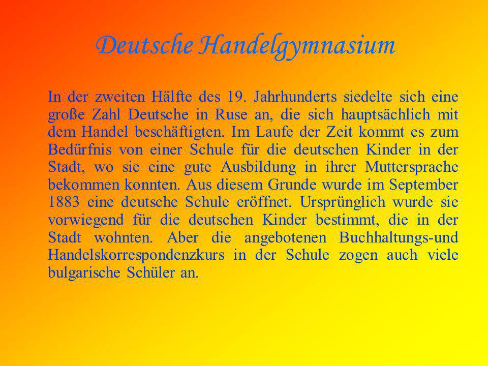 Deutsche Handelgymnasium