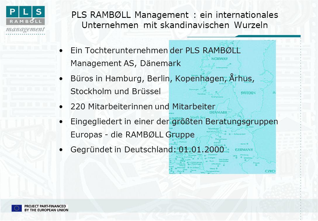 PLS RAMBØLL Management : ein internationales Unternehmen mit skandinavischen Wurzeln