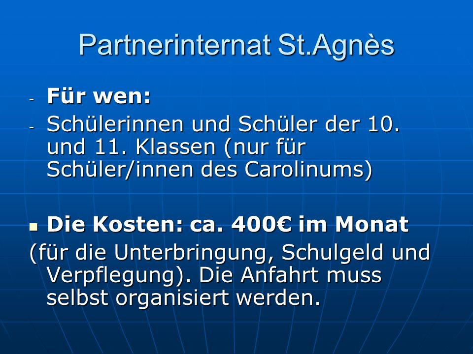 Partnerinternat St.Agnès