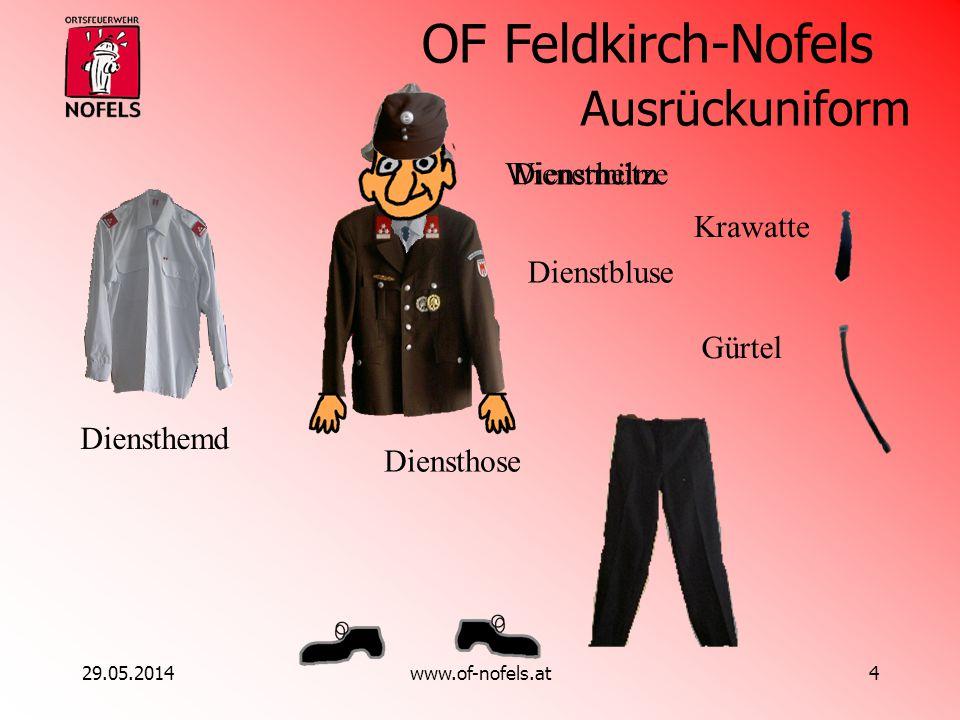 Ausrückuniform Wienerhelm Dienstmütze Krawatte Dienstbluse Gürtel