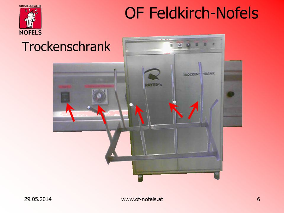 Trockenschrank 31.03.2017 www.of-nofels.at