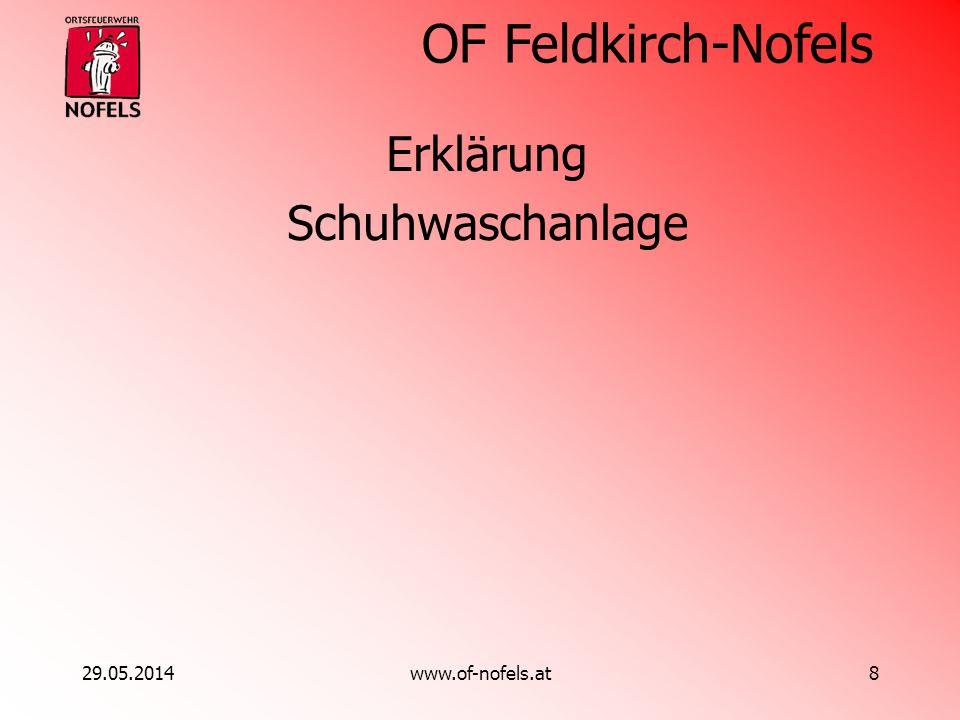Erklärung Schuhwaschanlage 31.03.2017 www.of-nofels.at