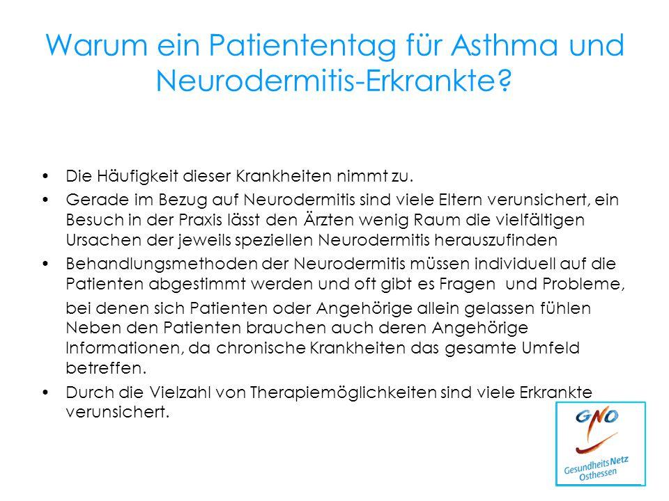 Warum ein Patiententag für Asthma und Neurodermitis-Erkrankte