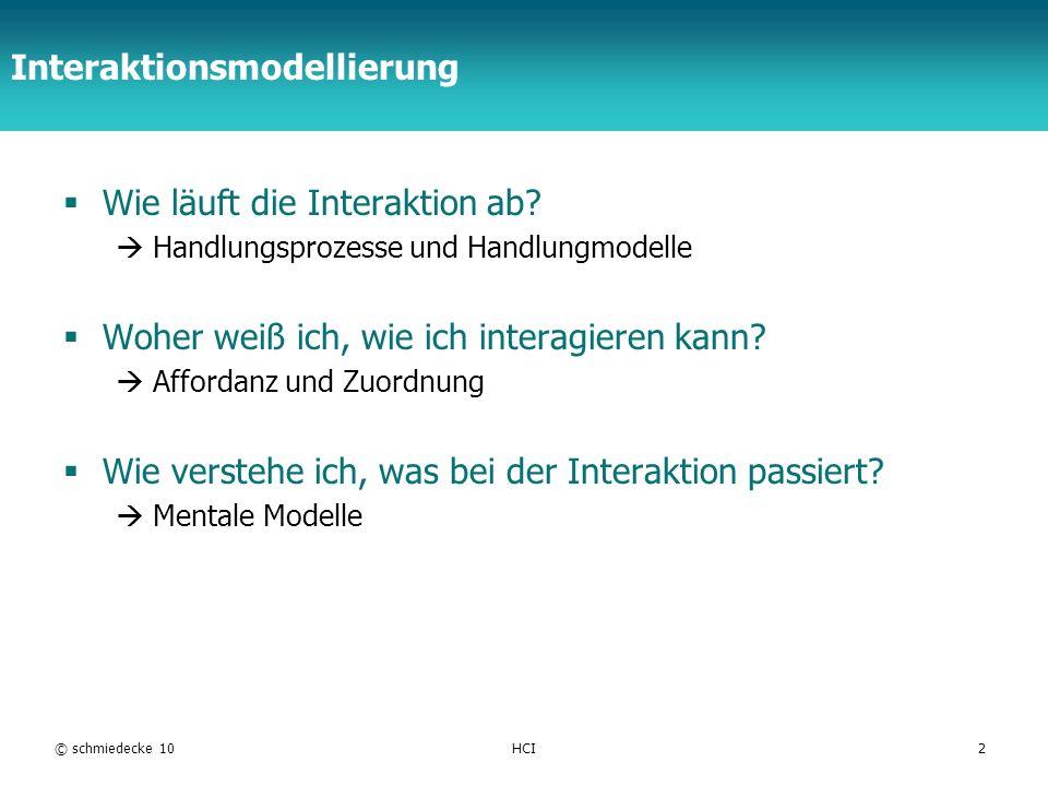 Interaktionsmodellierung