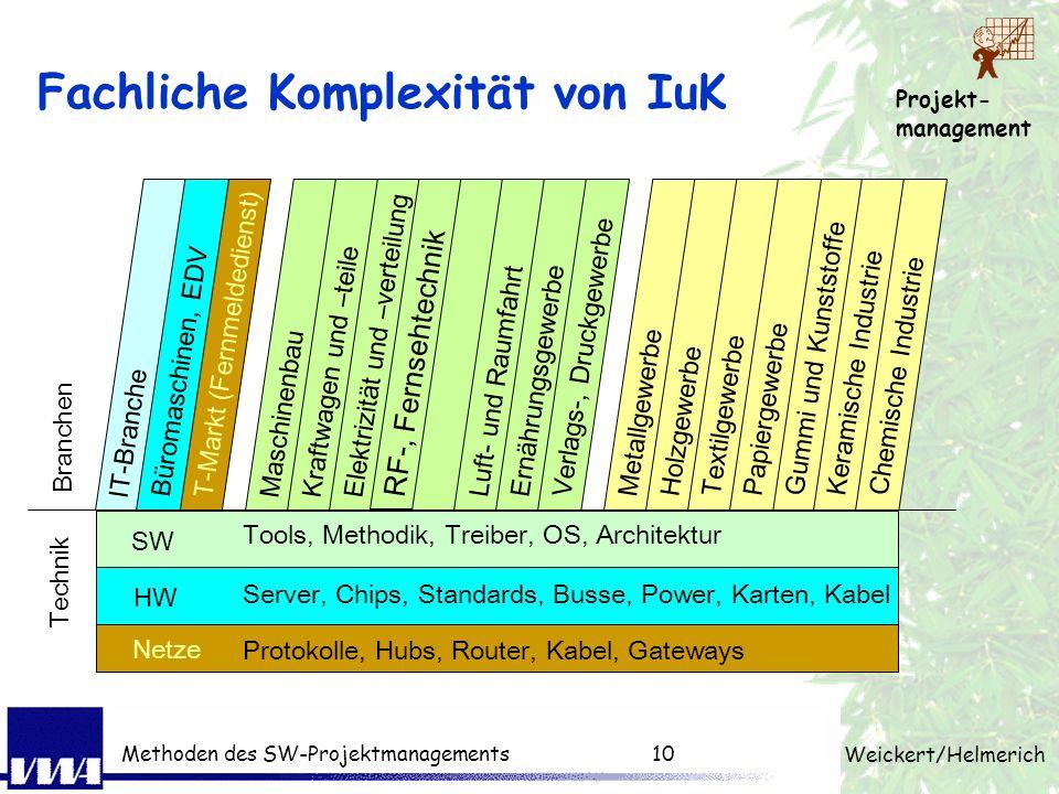 Fachliche Komplexität von IuK