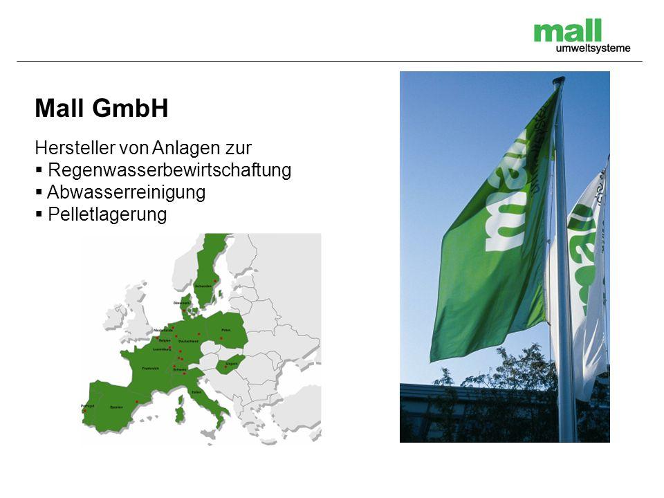 Mall GmbH Hersteller von Anlagen zur