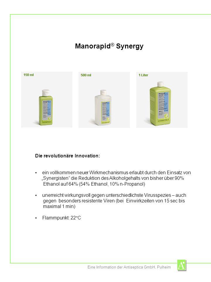 Manorapid® Synergy Die revolutionäre Innovation: