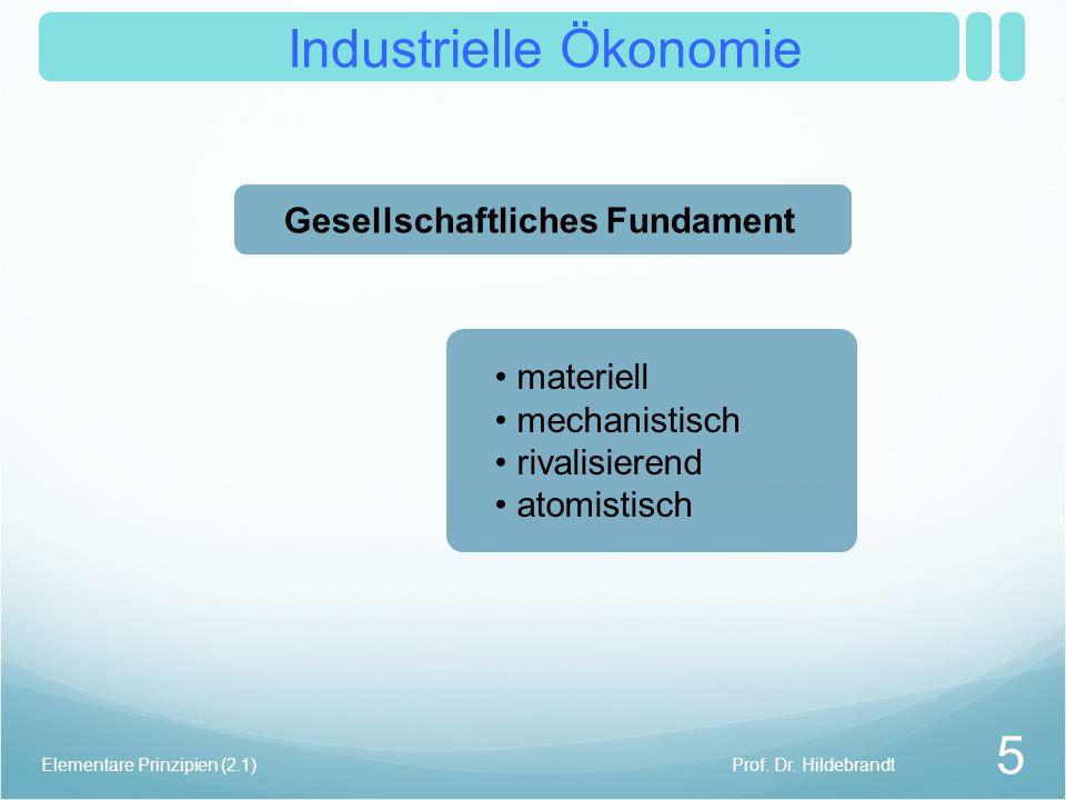 Industrielle Ökonomie