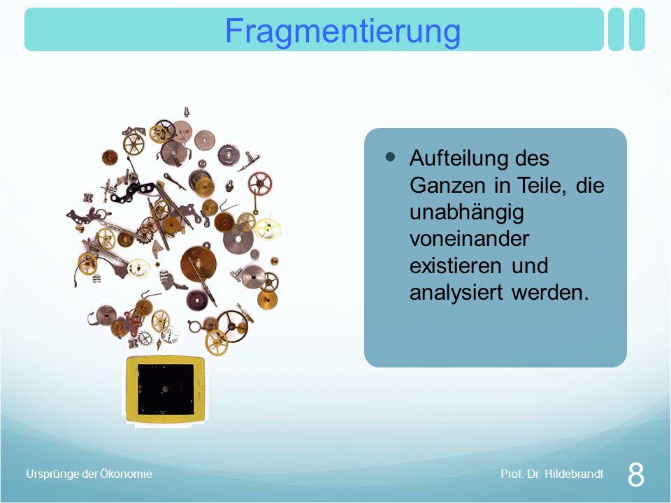 Fragmentierung Atomismus 8