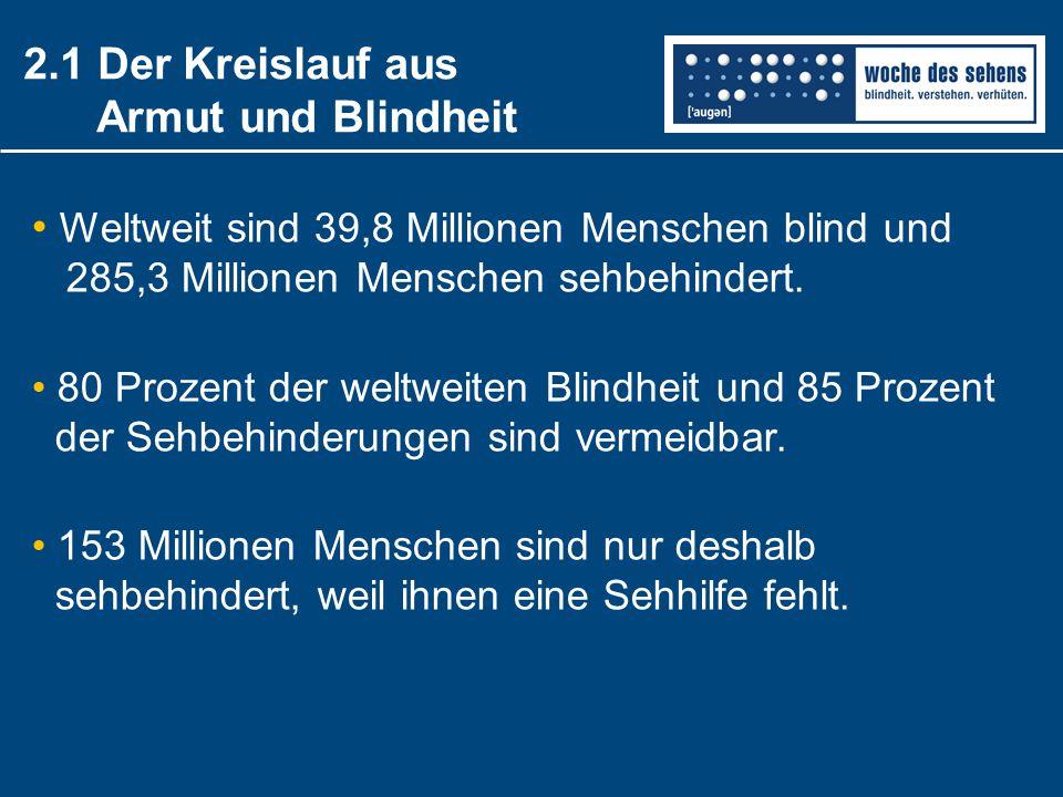 2.1 Der Kreislauf aus Armut und Blindheit