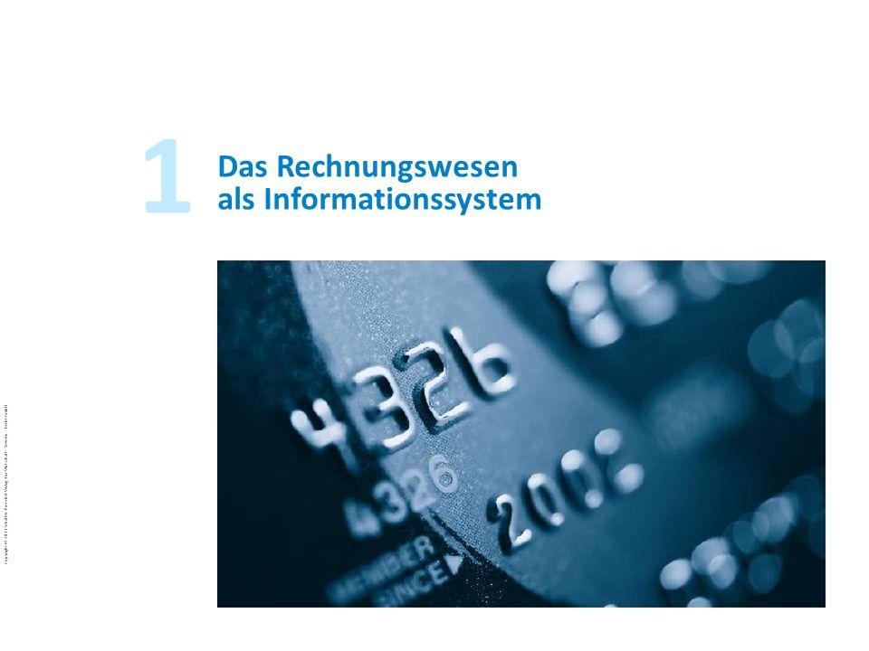 Das Rechnungswesen als Informationssystem
