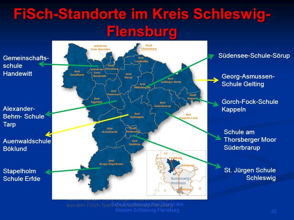 FiSch-Standorte im Kreis Schleswig-Flensburg