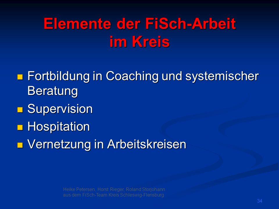 Elemente der FiSch-Arbeit im Kreis