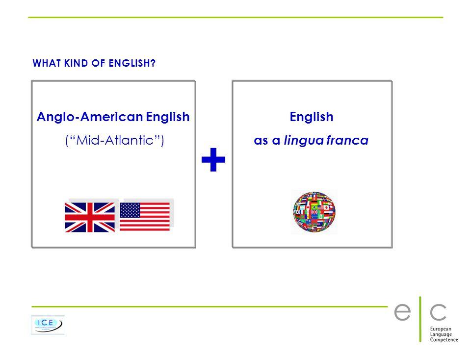 Anglo-American English