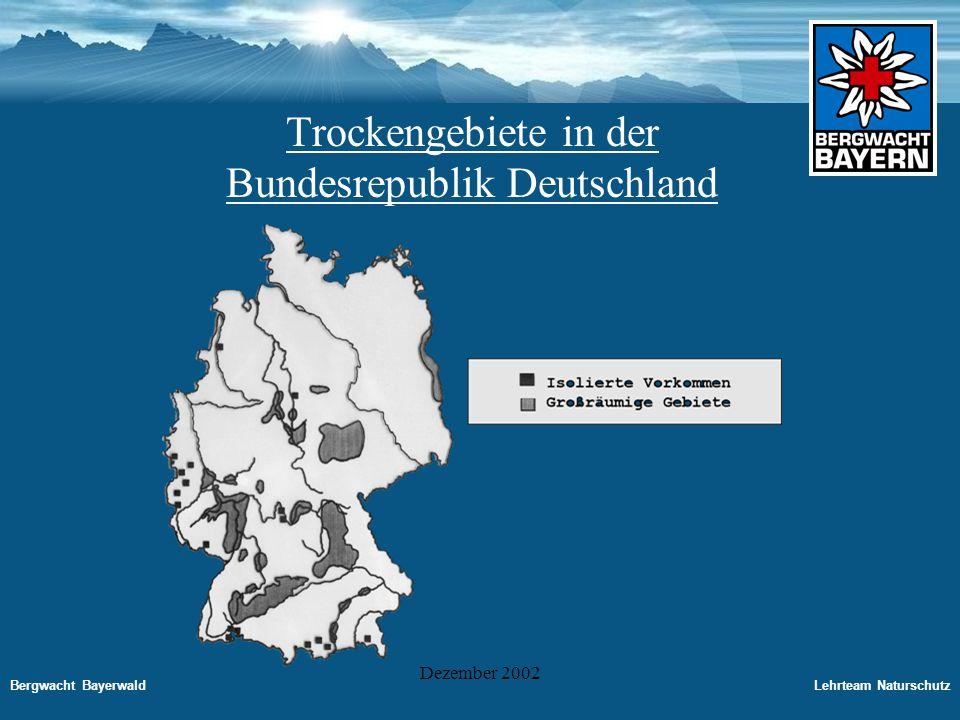 Trockengebiete in der Bundesrepublik Deutschland