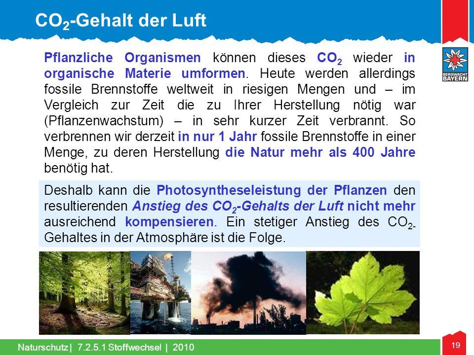 CO2-Gehalt der Luft