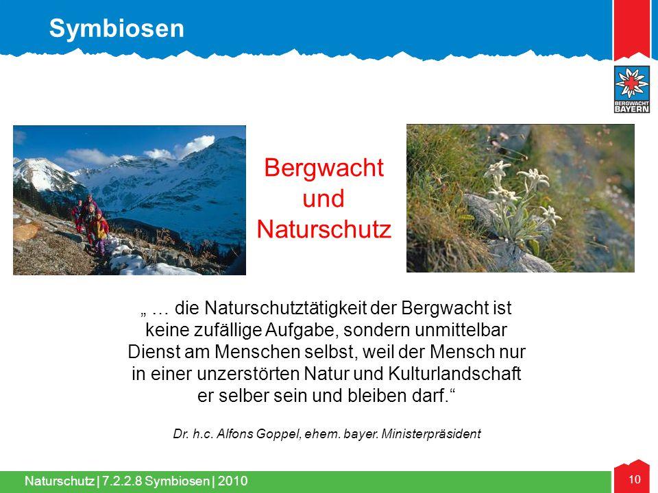 Bergwacht und Naturschutz