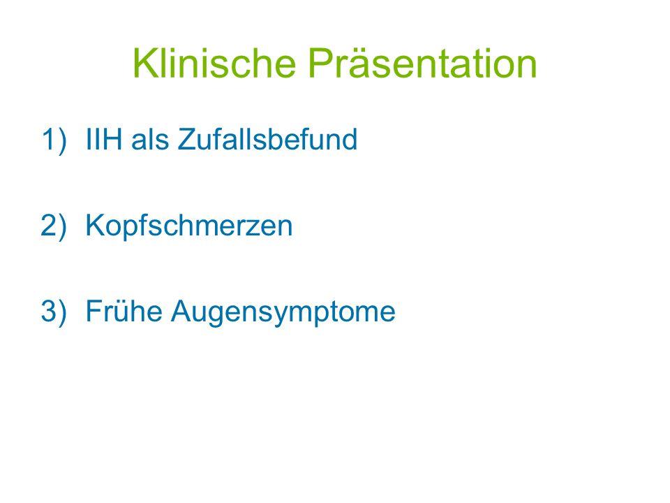 Klinische Präsentation