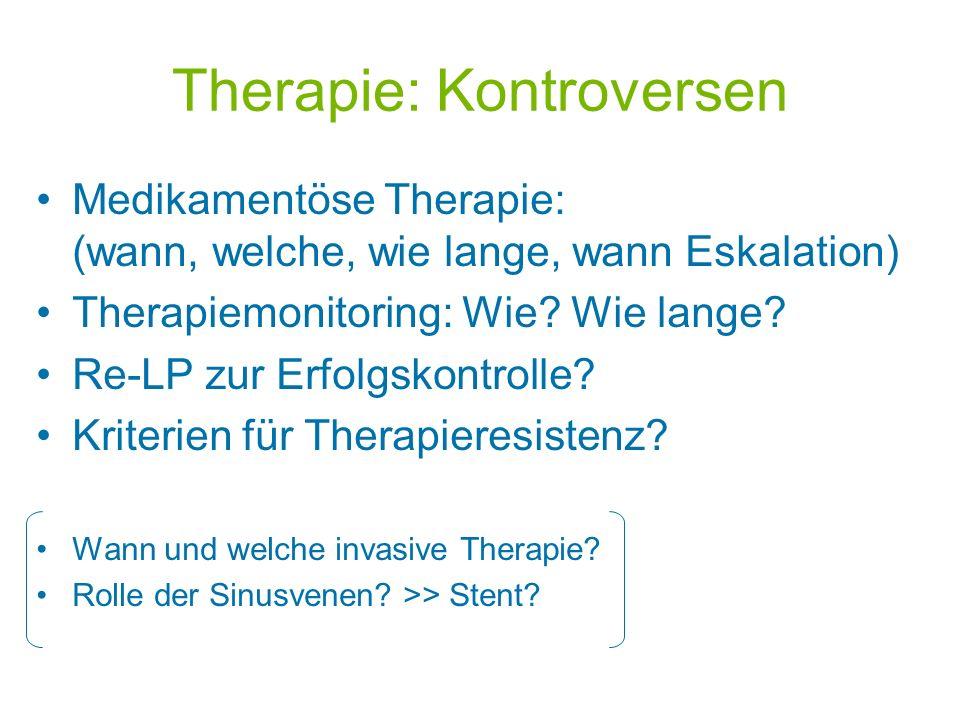 Therapie: Kontroversen